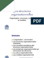 Organisation structures cultures