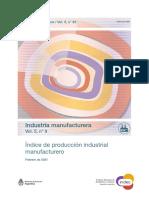 Actividad de la Industria. Febrero de 2021. INDEC.