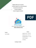 Plan de Negocio-Cleanyx