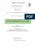 Diagnostic Financier, Un Facteur