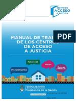 Manual de Trabajo Centros de Acceso a Justicia
