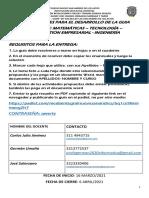 GUIA PEDAGOGICA 4 GRADO 10° - ALIANZA MATEMATICAS -TECNOLOGIA-INGENIERIA