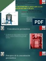 Concentradores gravimetricos en Au 2