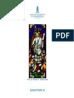 Eucharist Easter II 11.4.2021