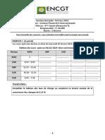 Examen GFI DNCG Semestre 7 Session Normale Février 2021