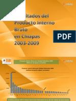PIB Chiapas 2009