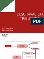 4. DESGRAVACION TRIBUTARIA
