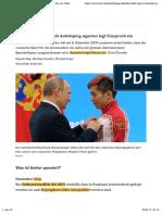 20191219 Doping-Skandal- Wada sperrt russische Sportler für vier Jahre