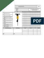 F-SSTA-109 Inspeccion martillo neumatico