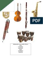 instrumentos agudos y graves