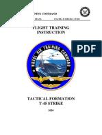 Flight Training Instruction, Tactical Strike Formation
