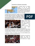 Igreja crescente no Oriente comunista