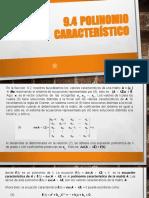 Cap 9 Valores y Vect Carat (Pol Caract).Pptx