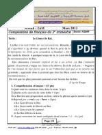 A5_examen Et Corrige Francais2013 2am t2