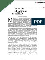La Jornada_ Pemex en dos años del gobierno de AMLO