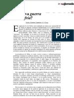 La Jornada_ ¿Nueva guerra fría_