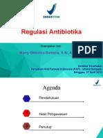 Materi Antibiotik BPOM-27 April 2019