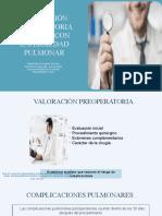 Anestesia - Px Con Enfermedad Pulmonar
