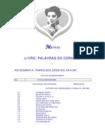 FRANCISCO CÂNDIDO XAVIER - MEIMEI - PALAVRAS DO CORAÇÃO
