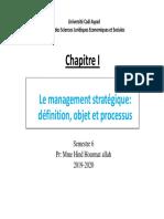 - Management Stratégique