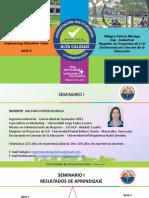 Seminario I - Presentación e Introducción