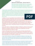 Mapas Mentais - Cap IV, V e VI - Pensamento Pedagógico Brasileiro