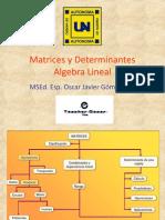 Matrices y Determinantes Algebra Líneal (1)