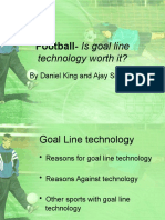 Football- Is goal line technology worth it