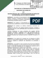 RESTRICCIÓN DEL USO Y COMERCIALIZACIÓN DE ARTÍCULOS DE PIROTECNIA DE AL TO IMPACTO SONORO