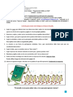 Guía - Organización Política de Chile - Lección 1