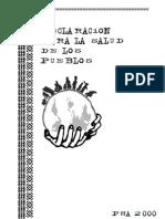 Phm-pch-spanish Declaracion de Los Pueblos
