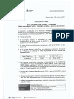 Circular Dp 06-21 Movilidad Para Jubilaciones y Pensiones Resolucion Anses 48-21 - Regimen General - Mensual Marzo -2021