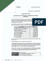 Circular Dp 10-21 Incremento Para Pensiones No Contributivas - Mensual -2021