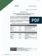 Circular Dp 08-21 Movilidad Para Jubilaciones y Pensiones - Docentes Universitarios - Mensual Marzo -2021