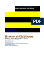 MA Thesis Emotional Disorders Dinis Guarda