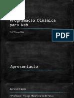Programação Dinâmica para Web - Aula 1_ORIGINAL