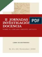II JAIDCOA - Libro de resúmenes