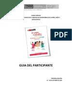 GUIA DEL PARTICIPANTE DE PROMOCION DE DERECHOS
