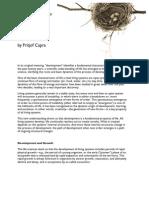 CEL-Fritjof-Capra-Development