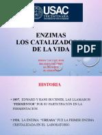 Presentación Clase Enzimas Sem. 7