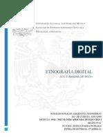 Act. 4 Etnografía Digital