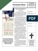 Hometown News - MAR/APR 2011