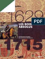 EBOOK Histoire de France 07 - Les rois absolus - 1629-1715 - 2011.
