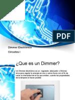 Presentacion Dimmer Proyecto