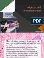 Alginate And
