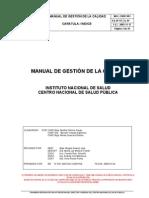 MGC-CNSP-001  Ed01 Manual Gestion Calidad
