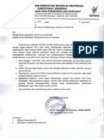 Penyesuaian Teknis Pelaksanaan Vaksinasi Covid-19
