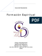 practicando la formacion espiritual de santidad wesleyana alumno