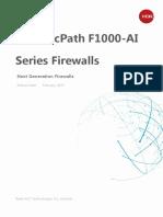 H3C SecPath F1000-AI Series Firewall Data Sheet - Updated
