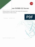 H3C UniServer R4900 G3 Rack Server Data Sheet